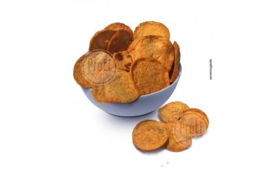 Proteïne chips met BBQ smaak