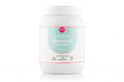 Proteïne dessert Chocolademousse