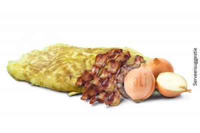 Proteïne omelet Bacon kaassmaak