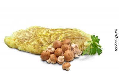 Omelet champignon