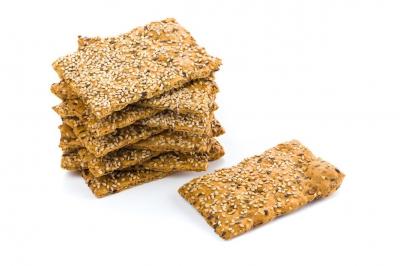 Sesamzaad crackers