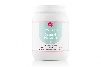 Proteïne dessert Pistache