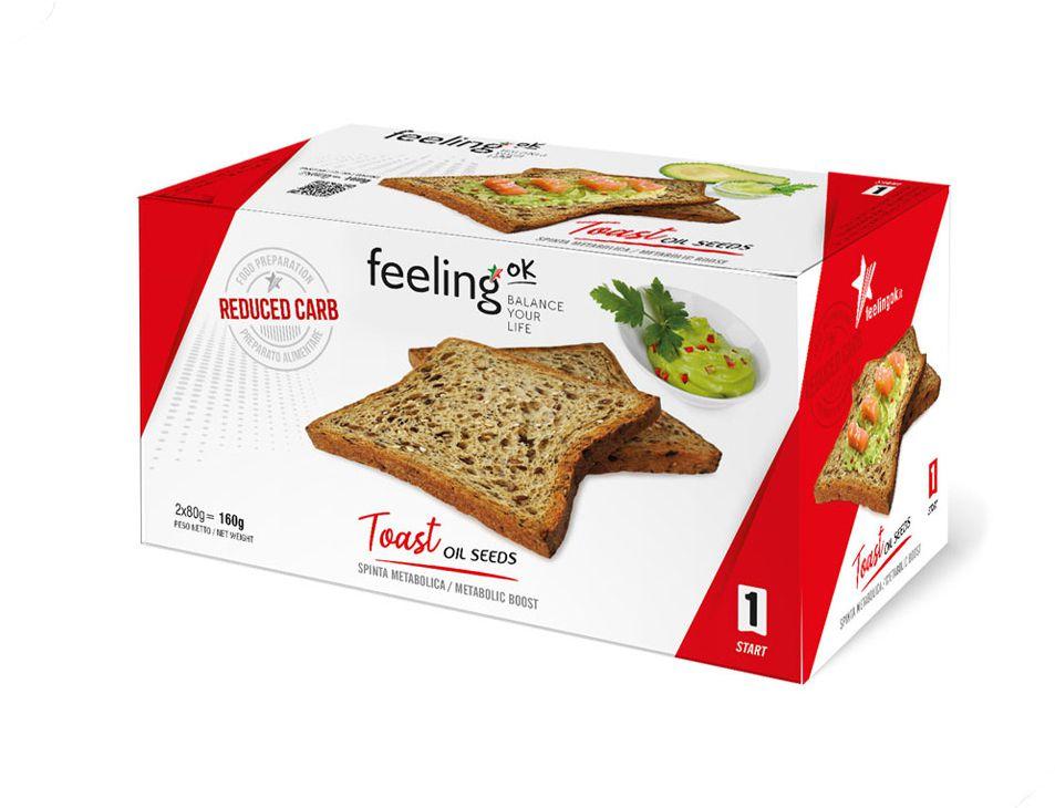 Feeling OK Toast oliezaden
