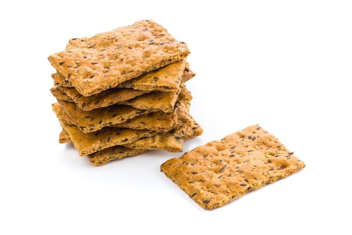 Koolhydraatarme Meerzaden crackers