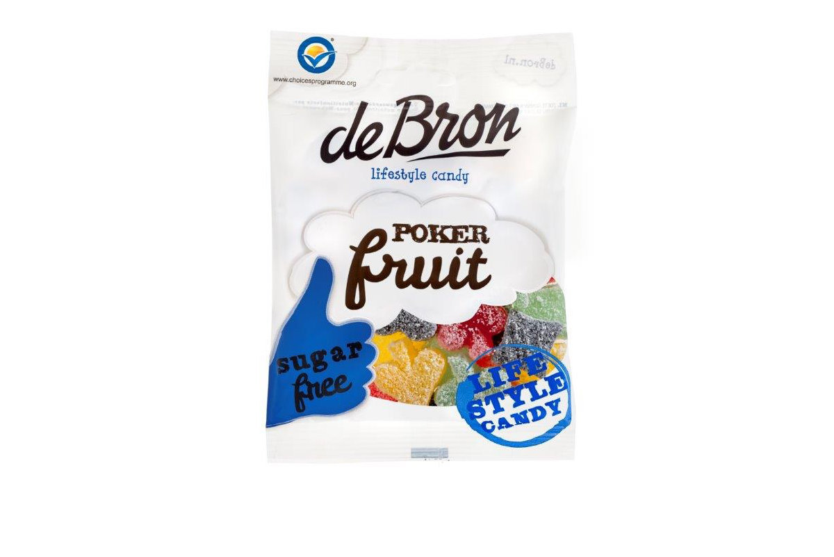 Suikervrije Poker Fruit
