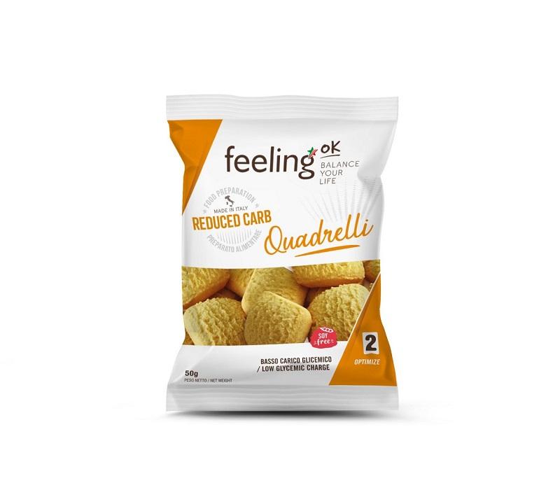 Feeling OK Quadrelli Sinaasappel koekjes