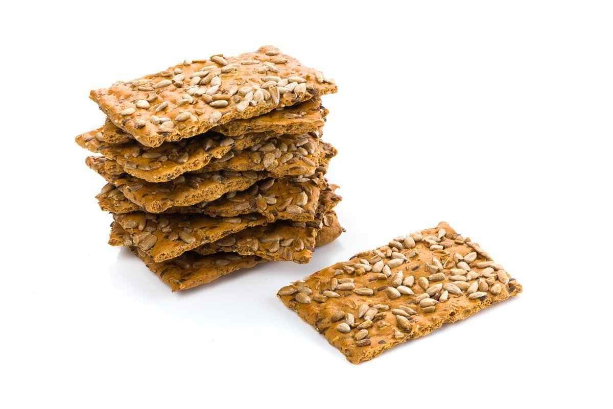 Zonnebloempit crackers