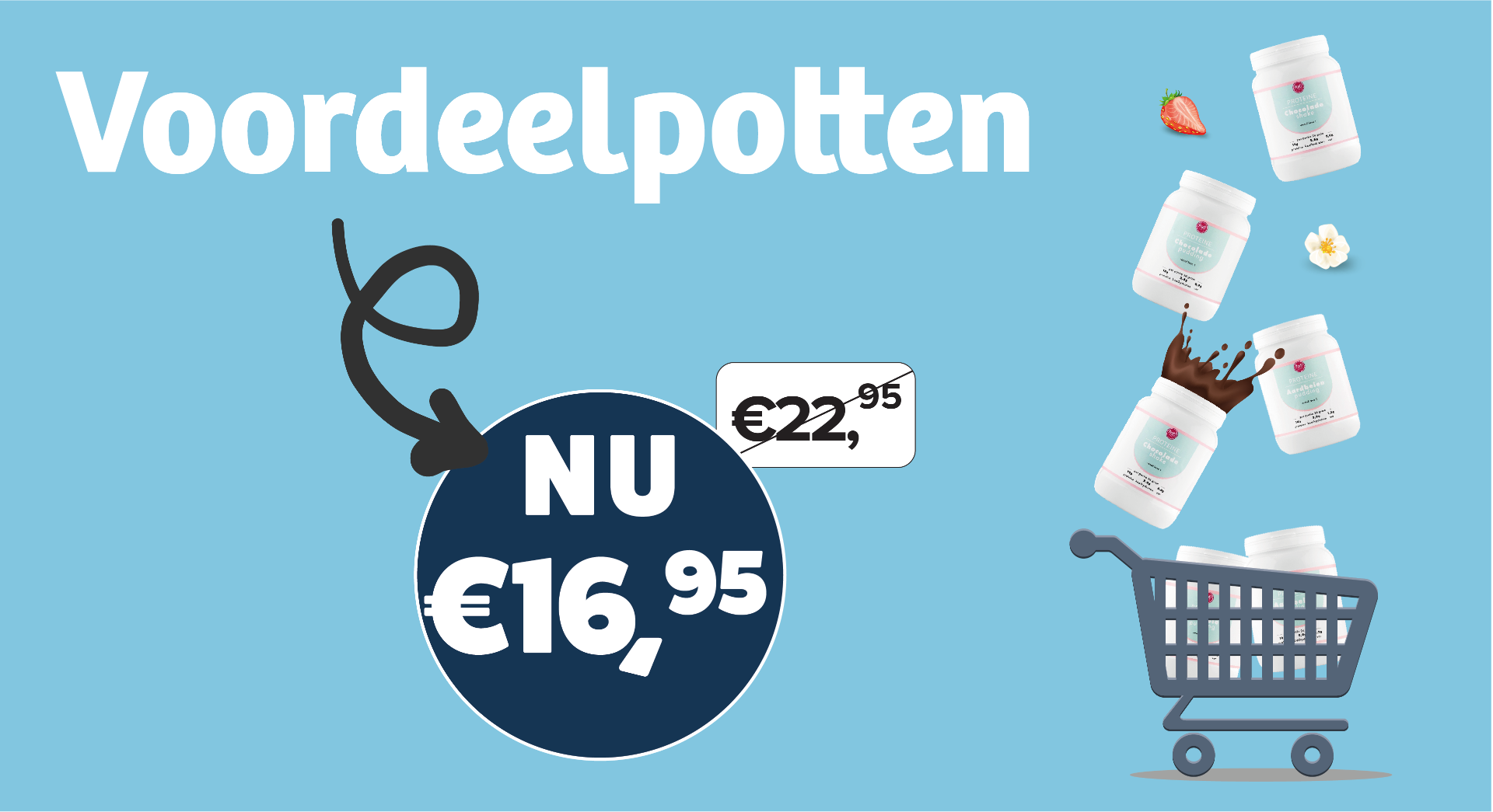 Voordeelpotten voor slechts €16,95!