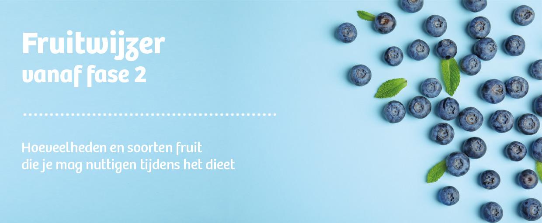 Koolhydraatarm dieet fruitwijzer