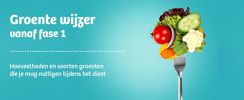 groentewijzer koolhydraatarm dieet