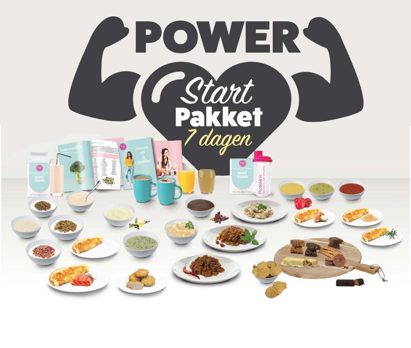 power startpakket 7 dagen protislank