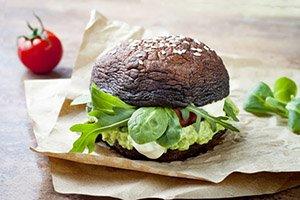 proteine dieet recept portobello burger