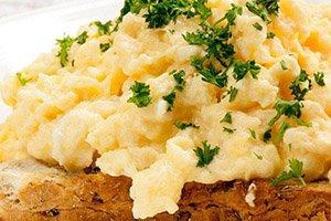 proteine dieet recept toast roerei