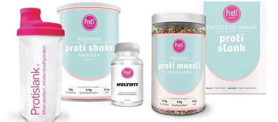 protislank proteine producten