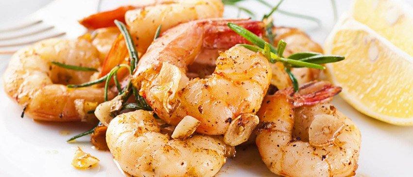 knoflookgarnalen-proteine-dieet-recept