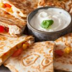 koolhydraatarme quesadilla proteine dieet recept