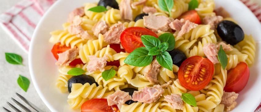 Recept koolhydraatarme koude pastasalade