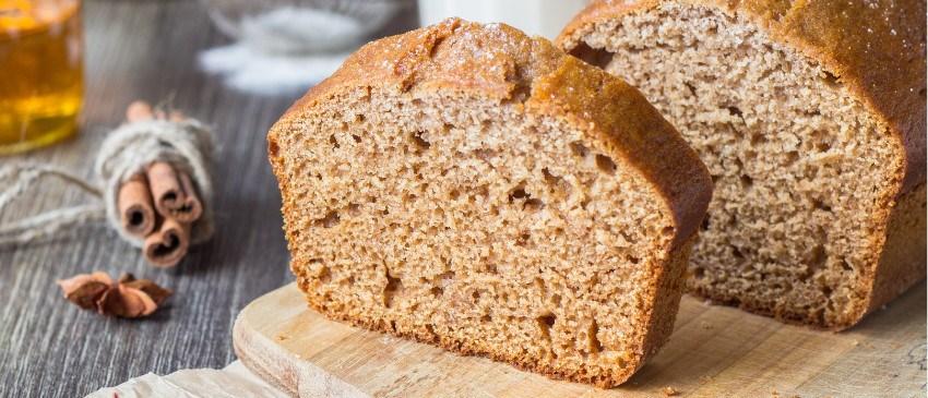 Suikervrij bakken met Sukrin: Appel-kaneel cake